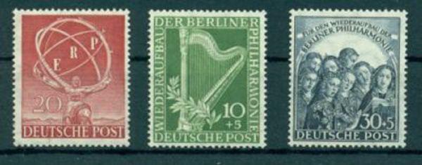 Berlin Mi. Nr. 71-73 **