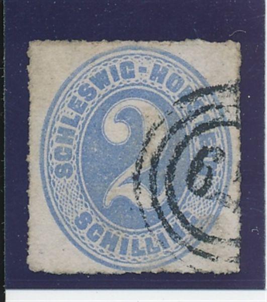 Schles.Holstein Mi.Nr.11 NS 179 Luxus Fotobefund BPP