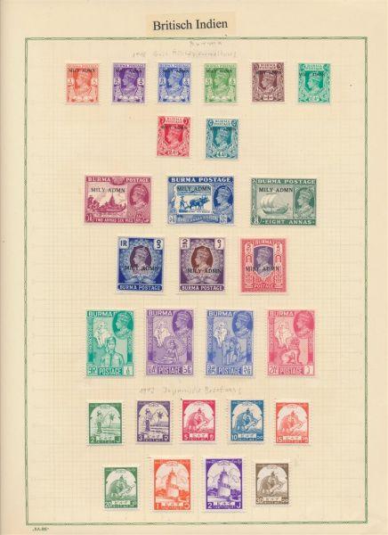 Britische Kolonien Klassik+Semiklassik Tolle Sammlung