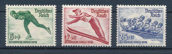 Deutsches Reich Mi.Nr.600-02 ** postfrisch