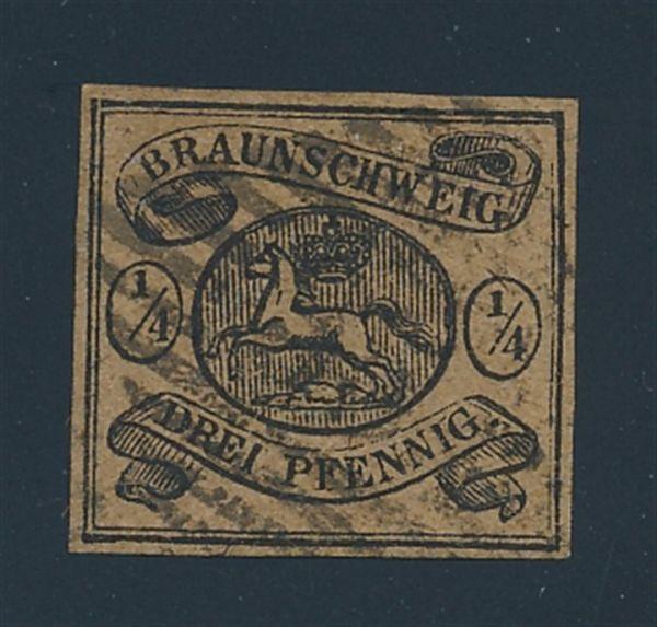 Braunschweig Mi.Nr.4 NS 35 Rübeland Lux Fotobefund BPP