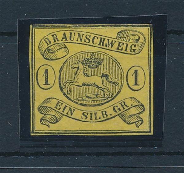Braunschweig Mi.Nr.11 A * Luxus Fotobefund BPP
