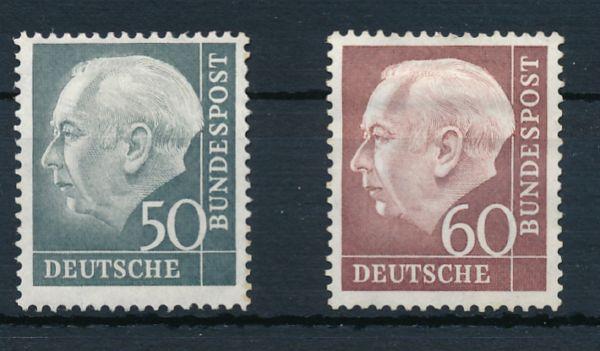 Bundesrepublik Mi.Nr. 189-90 * ungebraucht