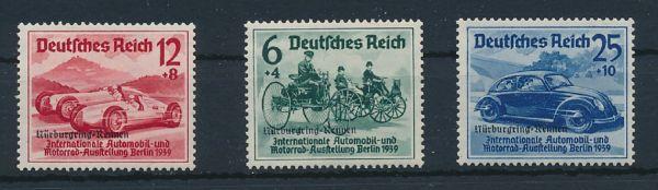 Deutsches Reich Mi.Nr.695-97 Nürburgring ** (280.-)