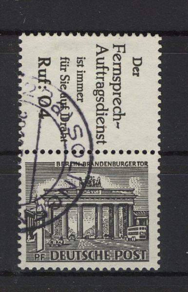 Berlin Zusammendruck S 9 gestempelt geprüft