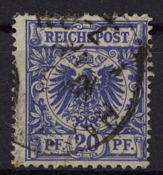 Deutsches Reich Reich Mi.Nr.48 aa gestempelt geprüft