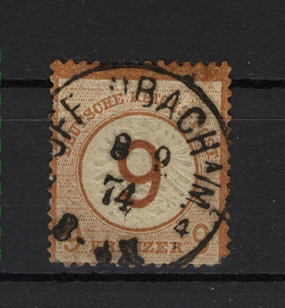 Deutsches Reich Mi.Nr.30 gestempelt