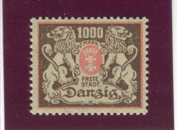 Danzig Mi.Nr.145 X postfrisch Luxus Fotoattest BPP