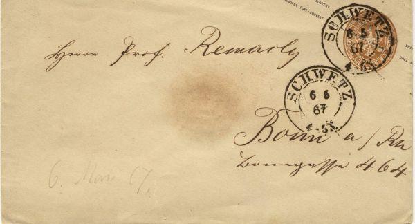 Schwetz auf Preussen Umschlag