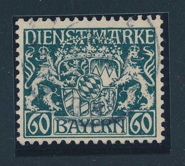 Bayern Mi.Nr.D 23w Luxus gestempelt Fotobefund BPP