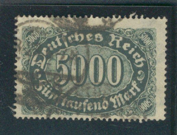 Deutsches Reich Mi.Nr.256 d gestempelt Fotobefund BPP