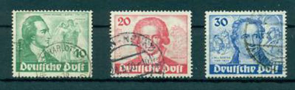 Berlin Mi. Nr. 61-63 gestempelt