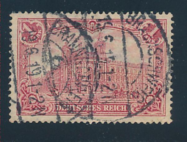 Deutsches Reich Mi.Nr.94 A II gestempelt geprüft