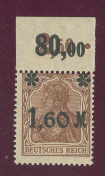 Deutsches Reich Mi.Nr.154 I b ** Oberr. Fotobefund BPP