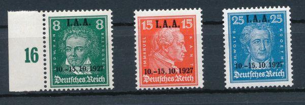 Deutsches Reich Mi.Nr. 407-09 ** postfrisch
