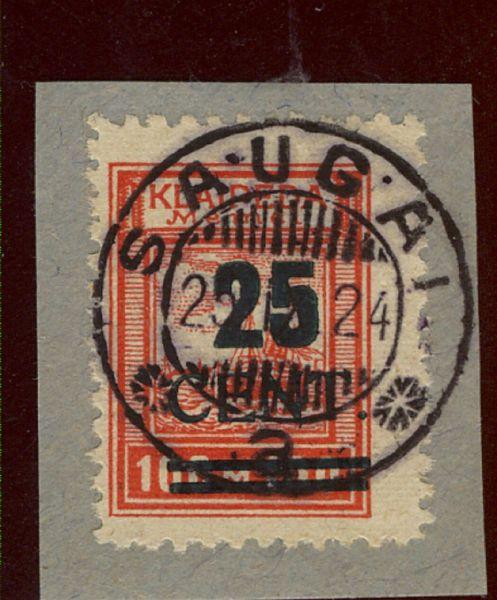 Memel Mi.Nr.235 I gestempelt Luxus Fotoattest BPP