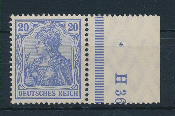 Deutsches Reich Mi.Nr.87 I d ** Luxus Fotoattest BPP