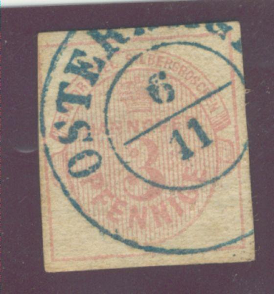 Hannover Mi.Nr.13 gestempelt Osterhagen