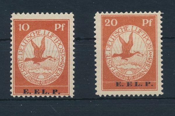 Deutsches Reich Mi.Nr.V und VI * Luxus Fotoattest BPP