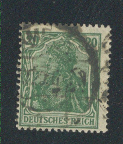 Deutsches Reich Mi.Nr.143 c gestempelt Fotobefund BPP