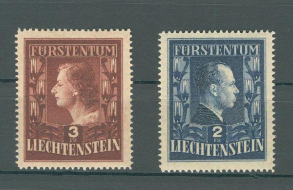 Liechtenstein Mi.Nr.304-05 B ** postfr. Fotoattest BPP