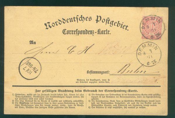 Demmin Preussen Nachverwendung ex Spalink