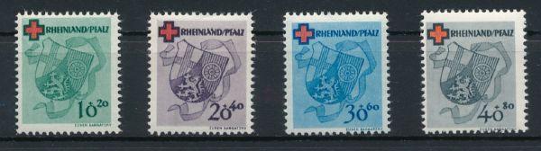 Rheinland Pfalz Mi.Nr. 42-45 ** postfrisch