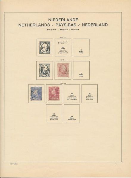Niederlande Sammlung bis ca. 1970 mit Besseren