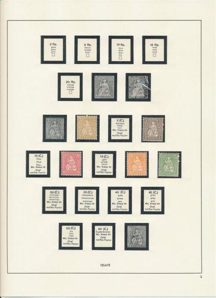 Schweiz 1906-1999 ** postfrisch fast kompl. Sammlung