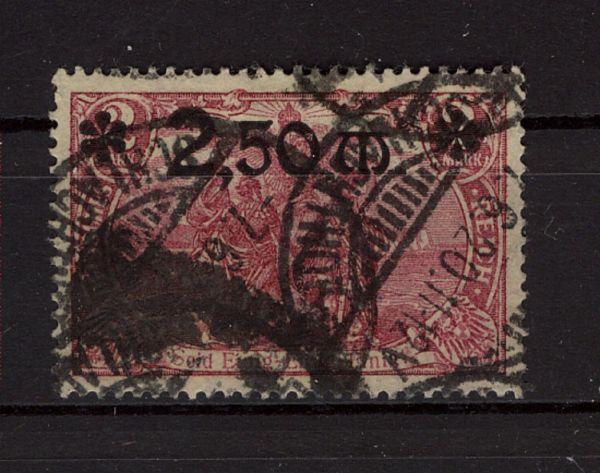 Deutsches Reich Mi.Nr.118b gestempelt FB'einwandfrei