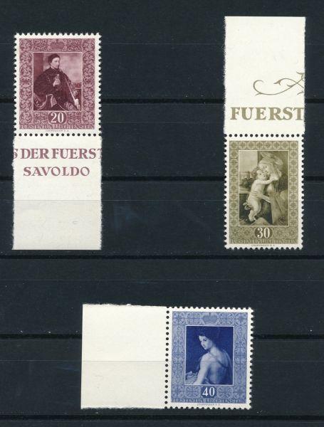 Liechtenstein Mi.Nr.306-08 ** postfrisch