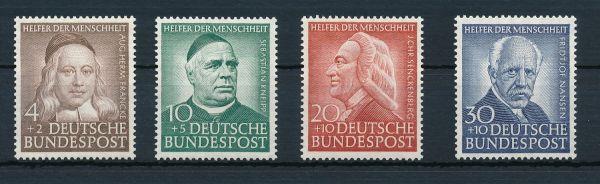 Bundesrepublik Mi.Nr. 173-76 ** postfrisch geprüft
