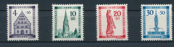 Baden Mi.Nr.38-41 ** postfrisch geprüft