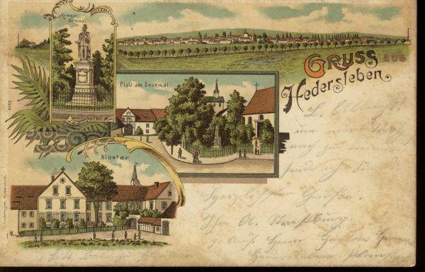 HederslebenFarbige Ansichtskarte