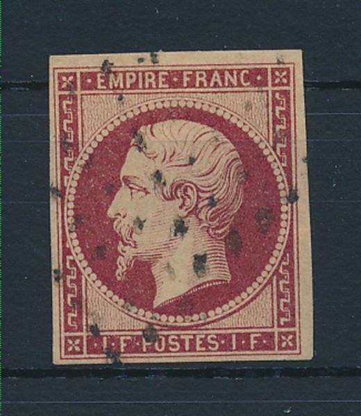 Frankreich Mi.Nr.17a gestempelt Luxus Fotoattest