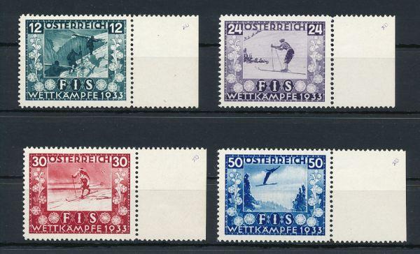 Österreich Mi.Nr.551-54 ** Luxus Fotoattest BPP