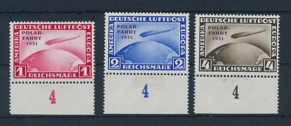 Deutsches Reich Mi.Nr.456-58 ** Luxus Fotoattest BPP