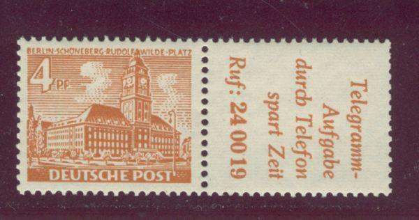Berlin Zusammendruck W 29 ** postfrisch
