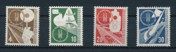 Bundesrepublik Mi.Nr.167-70 ** postfrisch