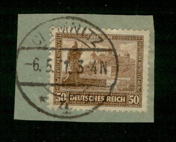 Deutsches Reich Mi.Nr.453 gestempelt geprüft