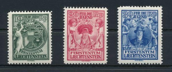 Liechtenstein Mi.Nr.116-18 * ungebraucht