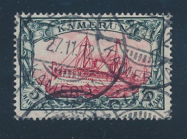 Kamerun Mi.Nr.19 gestempelt Luxus Fotoattest BPP