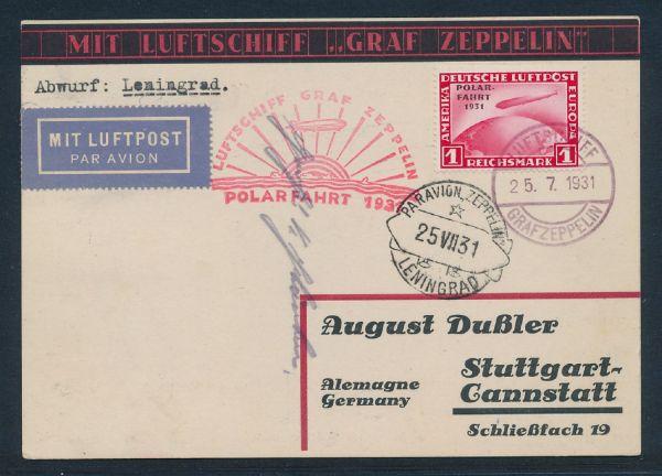 Deutsches Reich Mi.Nr.456-58 auf Brief Fotoattest BPP