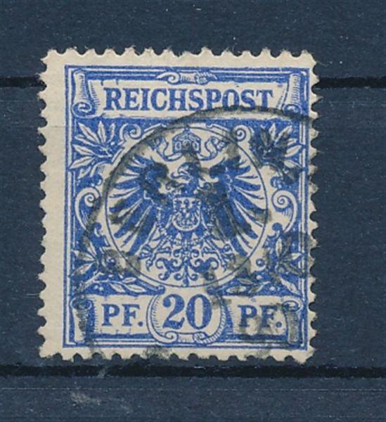 Deutsches Reich Mi.Nr. 48aa gestempelt geprüft