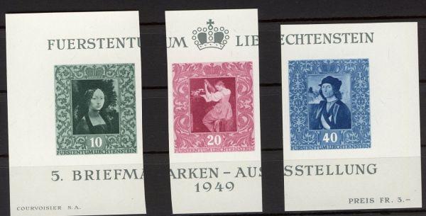 Liechtenstein Mi.Nr.278-80 postfrisch