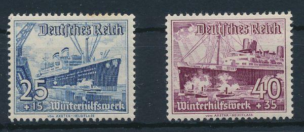 Deutsches Reich Mi.Nr.658 und 659 ** postfrisch (73.-)