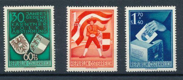 Österreich Mi.Nr.952-54 ** postfrisch