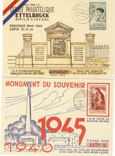 Luxemburg FDC Mi.Nr.395-98