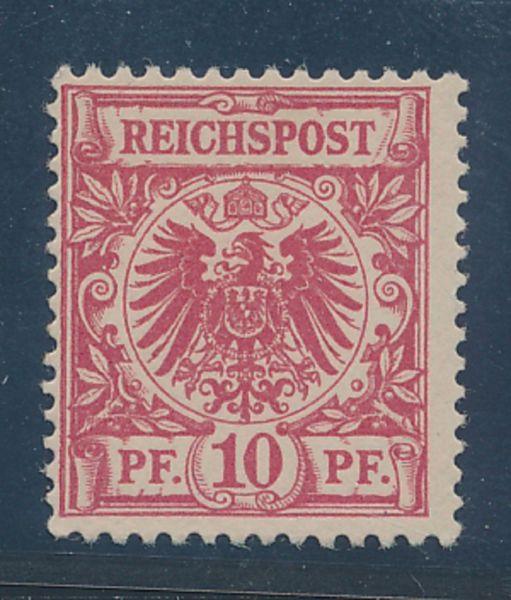 Deutsches Reich Mi.Nr.47ca ** Luxus Fotoattest BPP