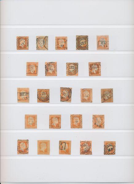 Preussen Riesensammlung gestempelt hoher Katalogwert